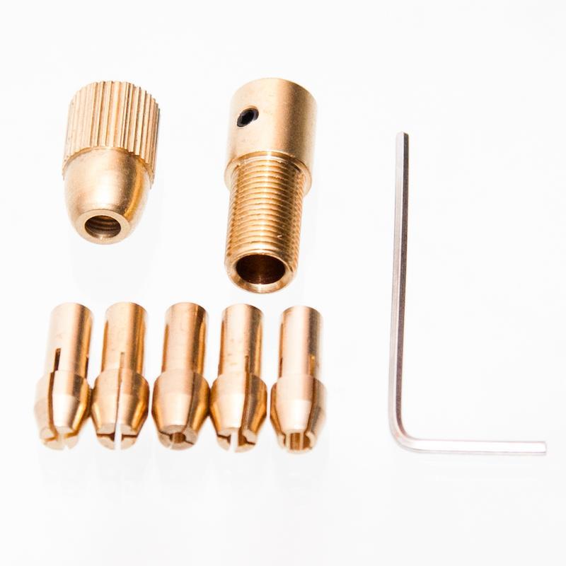 Bohren Messing Spannzangen Sechskantschlüssel Neu Langlebig Praktisch Bausatz