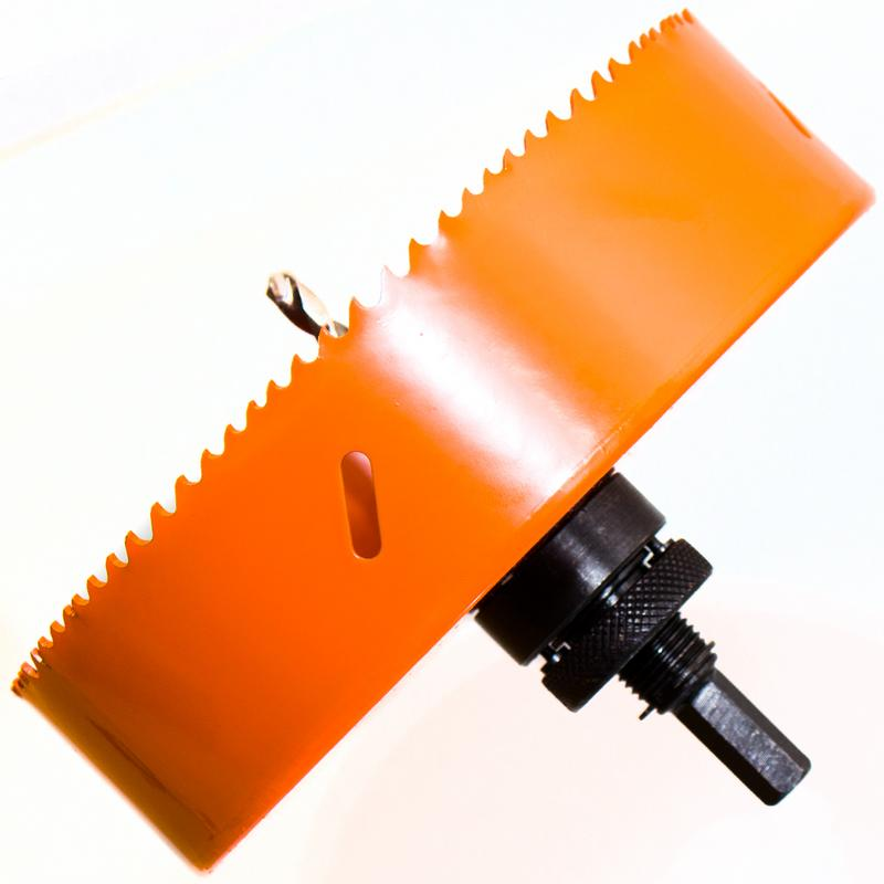 Lochsäge Ø 70 mm Bohrkrone Bi-Metall HSS Lochbohrkrone für INOX Rigips Holz