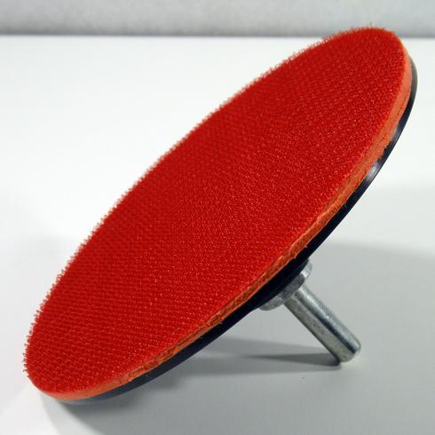Klett Schleifteller 125 mm Stützteller Klettscheibe Polierteller Polierbezug