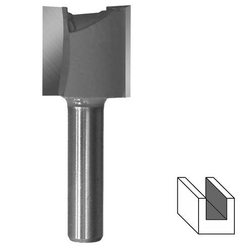 ENT Nutfräser Hartmetall mit Grundschneide 12 mm Schaft Fräser Nutenfräser